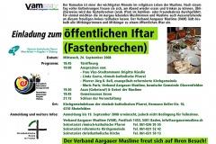 VAM-Iftar 2008 Flyer