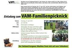 Familienpicknick 2011 Flyer