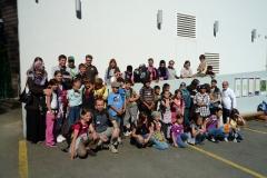Gruppenfoto vor der Talstation