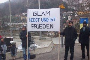 Friedenskundgebung in Baden, 12. März 2005