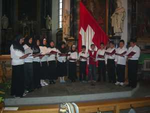 Gebet der Religionen in Baden, 17. September 2006