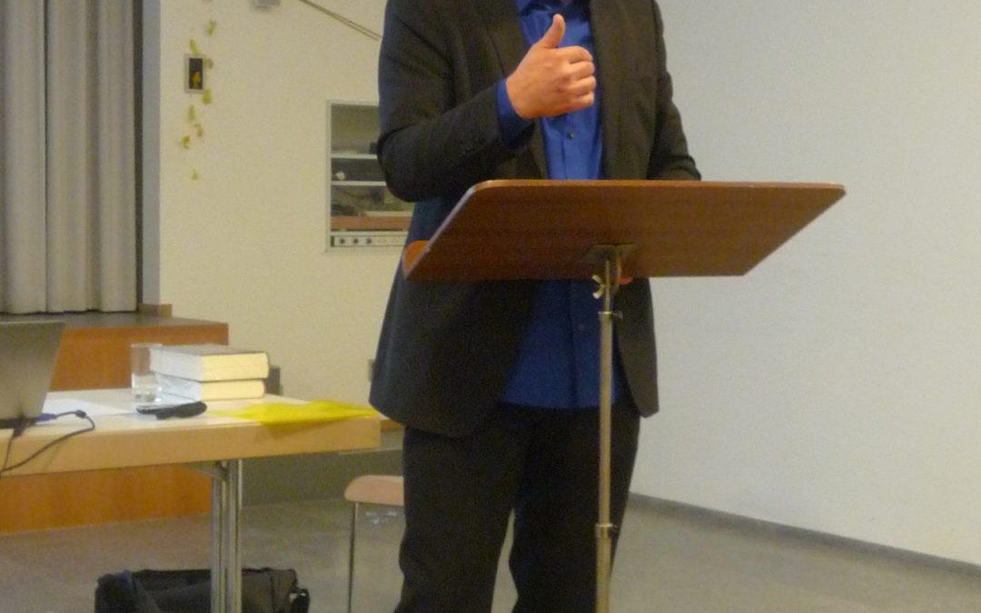 Treffen theologisch Verantwortlicher von jüdischen, christlichen und muslimischen Gemeinschaften im Kanton Aargau, 12. September 2012