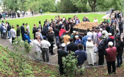 Bereits erste Beerdigung auf muslimischem Grabfeld in Baden
