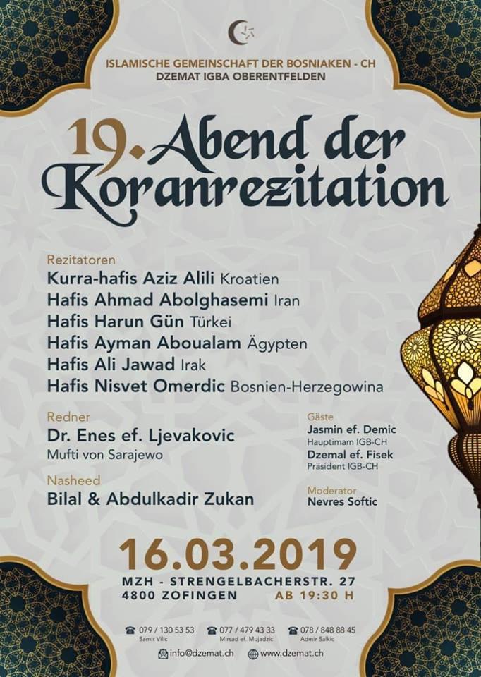 Flyer Vecer Qurana 2019