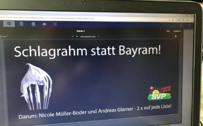 Wahlkampf im Aargau: Glarner versucht erneut zu provozieren