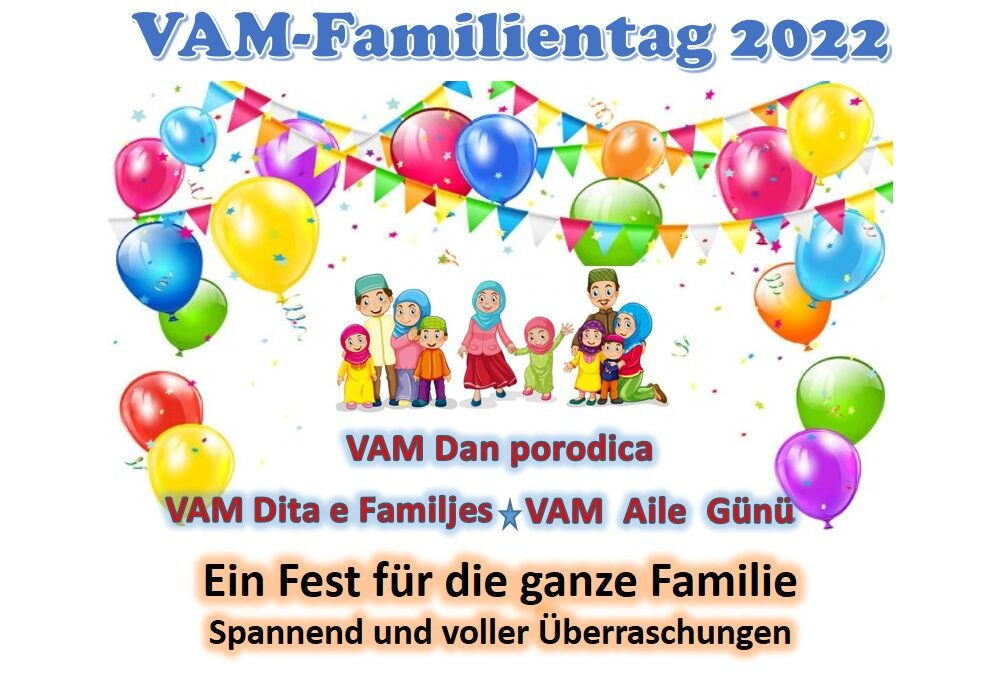 Save the date: VAM-Familientag 2022